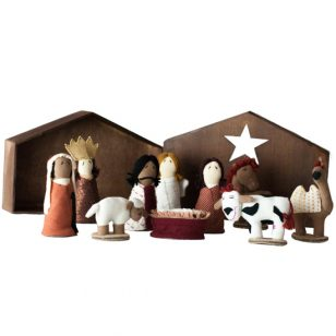 boxed nativity set