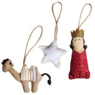 wisemen ornament set