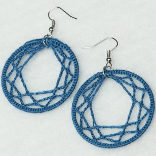 water's edge earrings