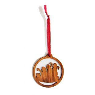 shepherds nativity ornament