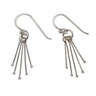 Silver Rain Earrings