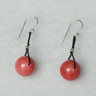 silver tango earrings